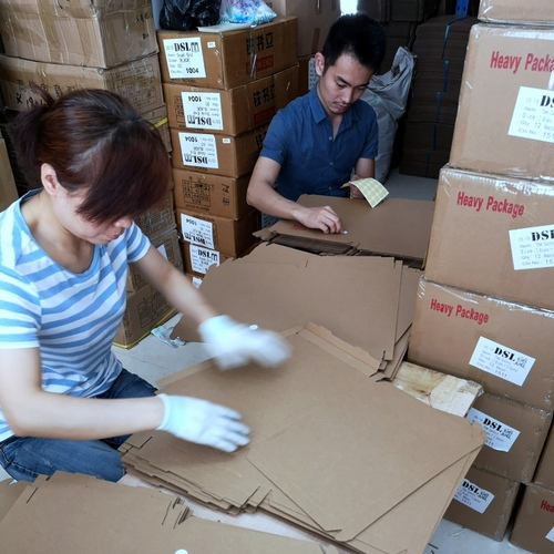 China Prep center labeling & folding inner box
