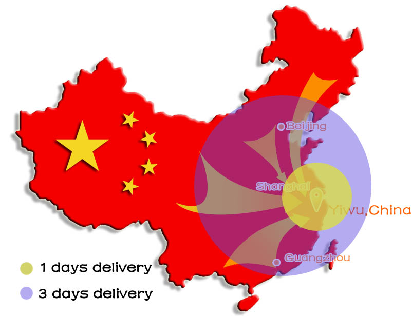 goods delivery to Yiwu