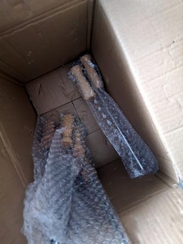 9-bubble wrap handles and central piece