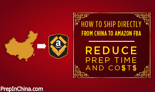Work with an Amazon FBA Prep center in China