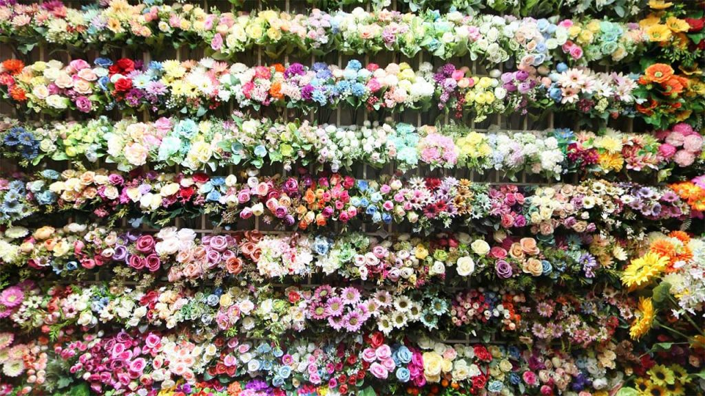 China Artificial Flowers market