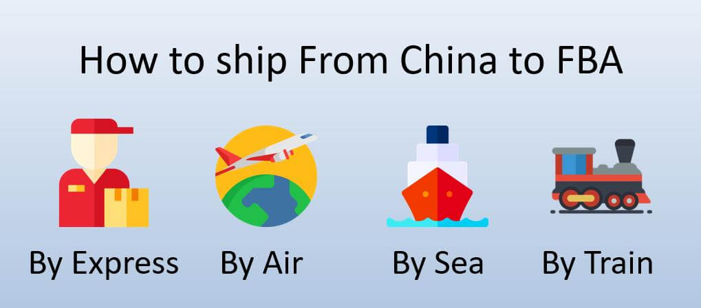 How to Ship From CHina To AMAzon FBA