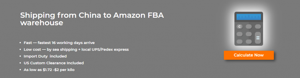 Amazon FBA calculate